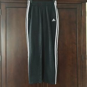 Adidas Boys Lined Track Pants Large (14/16)